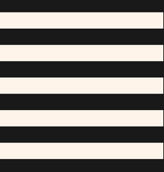 Horizontal stripes seamless pattern black white vector