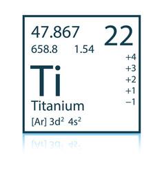 Icon chemistry element vector