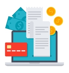 Internet Banking Concept vector image