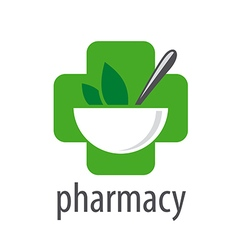 Logo for pharmacies on a white background vector