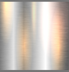 Shiny metal background vector