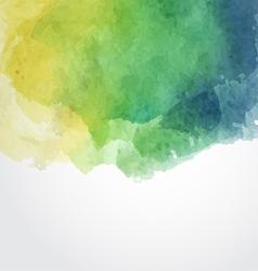 Watercolor Paint Design Element vector image
