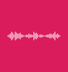 Waves equalizer isolated on background eq vector
