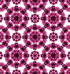 Pattern volumetric cubes vector image vector image