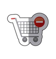 Buy car icon image vector