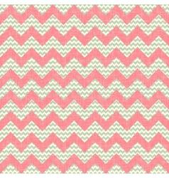 Zigzag pattern seamless chevron background vector image