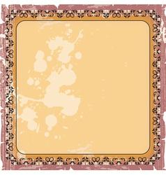 ornamental decorative frame vector image