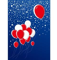 Balloon design vector image vector image