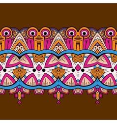 Horizontal lace steampunk ornament ornamental vector image vector image