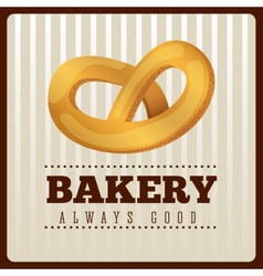 Bakery menu design vector