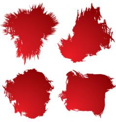 Blood stain vector