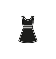 fashion model symbol casual woman dress vector image