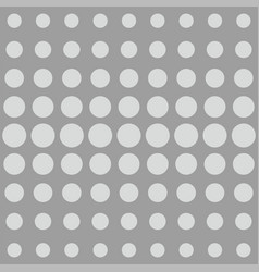 Grey dots background or comic pattern vector