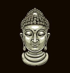 Buddha 2 vector image vector image