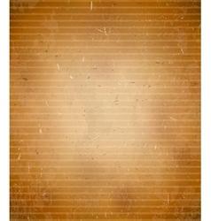 Rugged cardboard background vector image