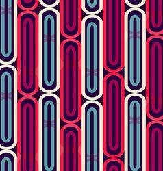 retro stripes seamless pattern vector image vector image