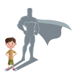Boy Superhero Concept 2 vector image