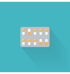 Blister Pack Icon vector image