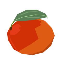 Isolated geometric mango vector