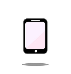 Mobile phone icon smartphone display call vector