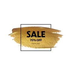 sale banner design special offer background vector image