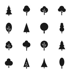 Tree icon8 vector