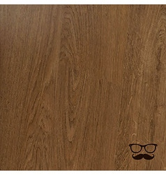 Wooden Background With Hipster Icons vector image