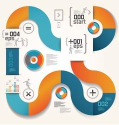 elements info graphics ipad 03 vector image vector image