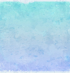 Winter ice themed grungy background vector image