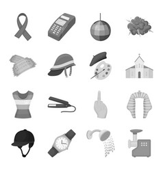 security sport trade and other web icon in vector image vector image