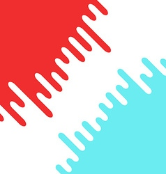 Abstract colorful liquid curvy shape for text and vector image