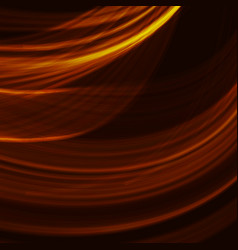 abstract fractal orange gradient background light vector image