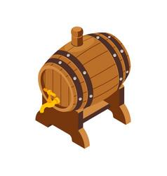 Beer keg vector