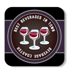 BeverageCoaster6 vector image