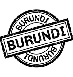 Burundi rubber stamp vector