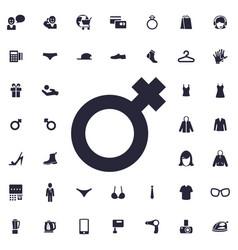 Female sign icon vector