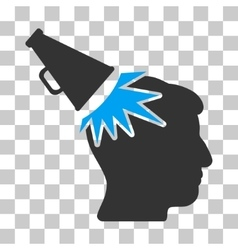 Megaphone Impact Head Icon vector