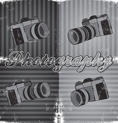 Photgraphy background vector