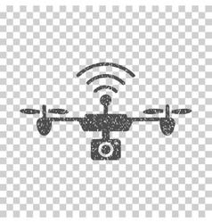 Radio Camera Airdrone Grainy Texture Icon vector