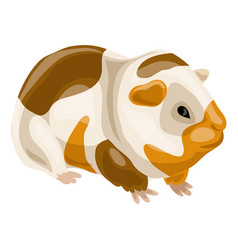 sea pig icon cartoon style vector image