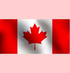 flag of canada - vector image