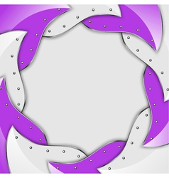 abstract background with stylised diaphragm vector image vector image