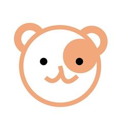 icon bear vector image
