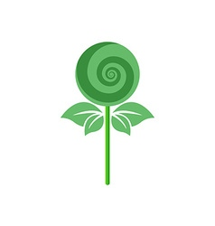 Vegetarian sweets icon or logo vector image