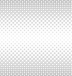 Abstract monochrome angular square pattern vector