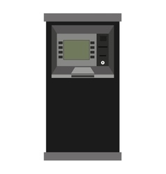 atm machine isolated icon design vector image
