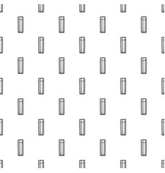 beer glass pattern seamless vector image