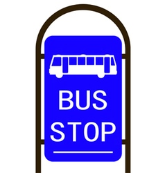bus stop Converted 01 vector image