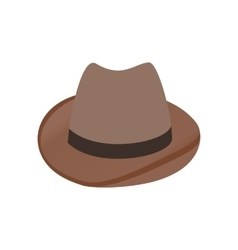 cowboy hat isometric 3d icon vector image