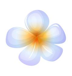 Flower coconut iconcartoon icon vector
